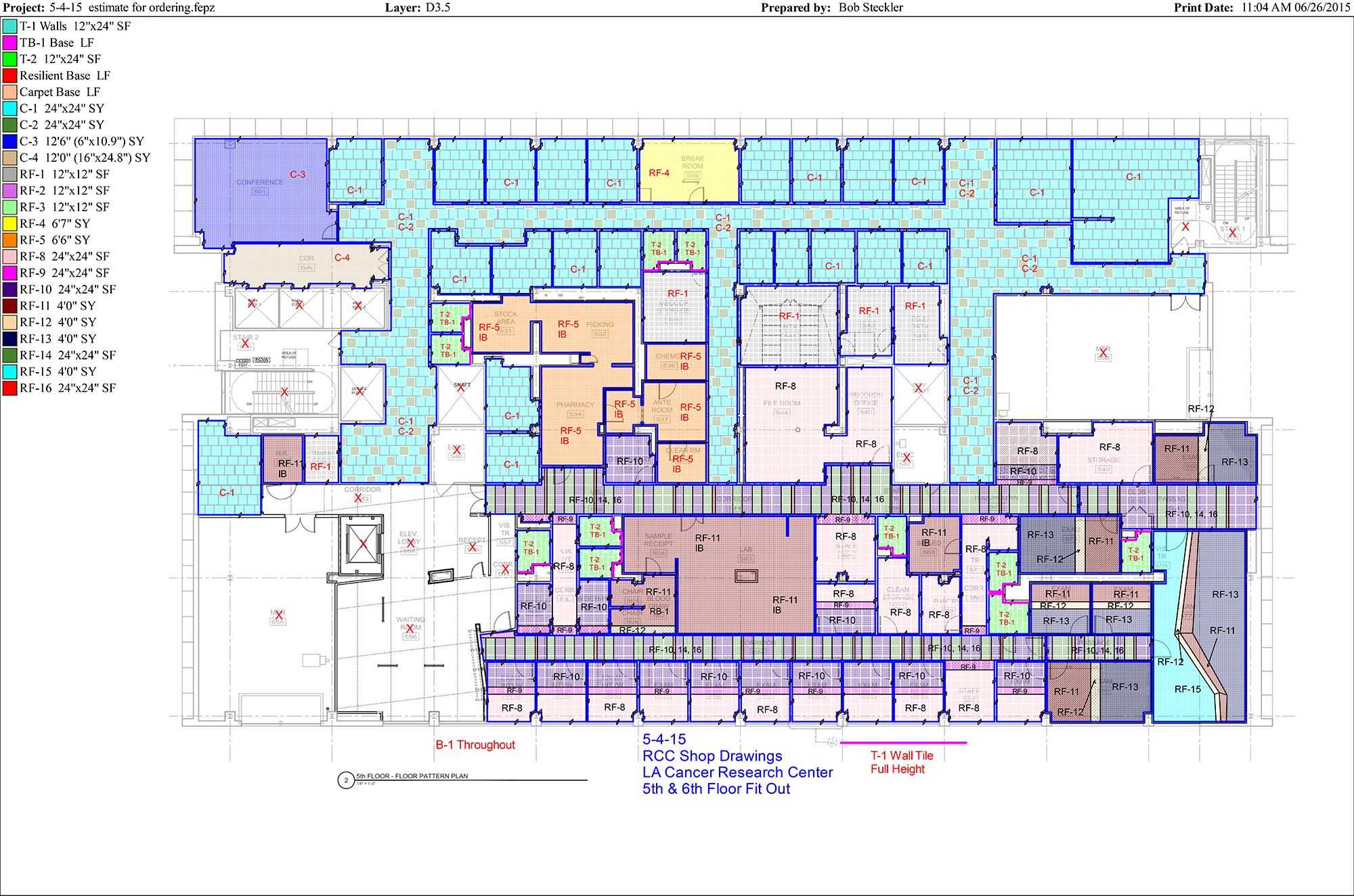 Rcc flooring llc our work drawings for School project plan